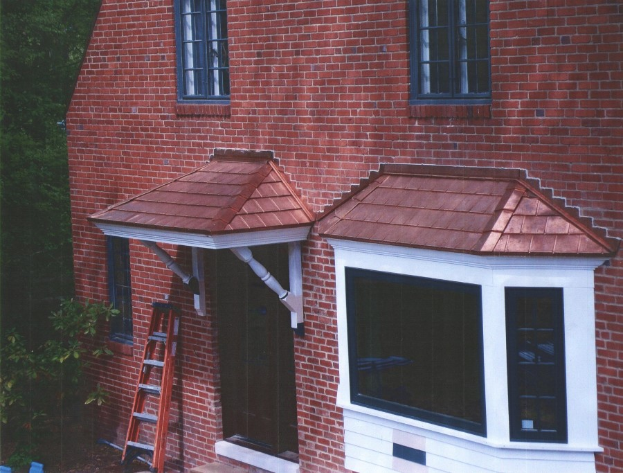 Copper Bay Windows Welte Roofing