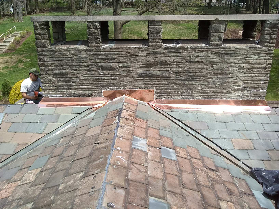 Clemant Chimney Flashing Welte Roofing